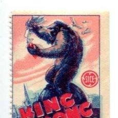 Cine: KING KONG, CON FAY WRAY. SELLO.. Lote 276193523