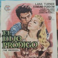 Cine: EL HIJO PRODIGO, CON PUBLICIDAD. Lote 276296173