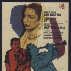Folhetos de mão de filmes antigos de cinema: P-9572- SU DESCONSOLADA ESPOSA (CINEM AIMPERIAL) CONRADO SAN MARTÍN - CONCHITA ORTIZ. Lote 276547438