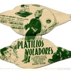 Cine: PLATILLOS VOLADORES, CON ANDRÉS SOLER.. Lote 276589313
