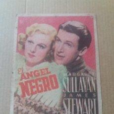 Cine: EL ANGEL NEGRO CARTON. Lote 276642758