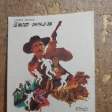 Flyers Publicitaires de films Anciens: FOLLETO DE MANO DE LA PELICULA DE HOMBRE A HOMBRE. Lote 276701733