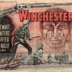 "Cine: 50´S. ""WINCHESTER 73"" JAMES STEWART SHELLEY WINTERS DAN DURYEA STEPHEN MCNALLY DIRECTOR ANTHONY MANN. Lote 276740203"