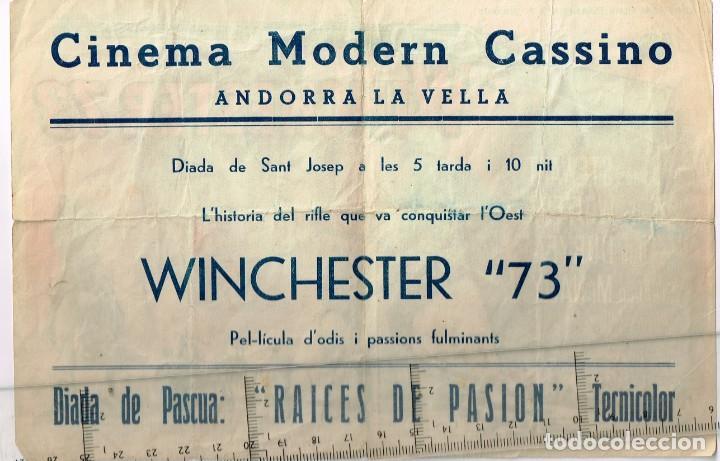 """Cine: 50´s. """"WINCHESTER 73"""" James Stewart Shelley Winters Dan Duryea Stephen McNally Director ANTHONY MANN - Foto 2 - 276740203"""