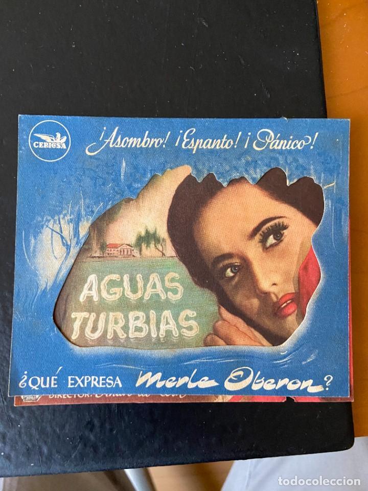 AGUAS TURBIAS (Cine - Folletos de Mano - Comedia)