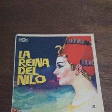 Cine: LA REINA DEL NILO - SIMPLE SIN PUBLICIDAD - BUEN ESTADO. Lote 276911348