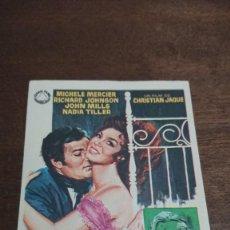 Cine: LOS AMORES DE LADY HAMILTON - SIMPLE SIN PUBLICIDAD - BUEN ESTADO. Lote 276911763
