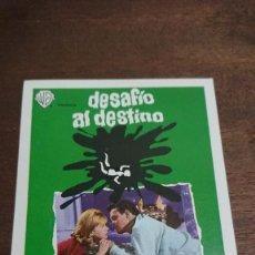 Cine: DESAFÍO AL DESTINO - SIMPLE SIN PUBLICIDAD - BUEN ESTADO. Lote 276912788