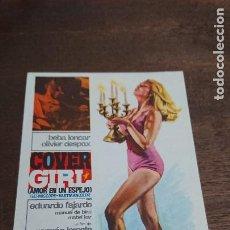 Cine: COVER GIRL (AMOR EN UN ESPEJO) - SIMPLE SIN PUBLICIDAD - BUEN ESTADO. Lote 276912938