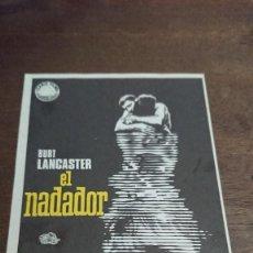 Cine: EL NADADOR - SIMPLE SIN PUBLICIDAD - BUEN ESTADO. Lote 276913998