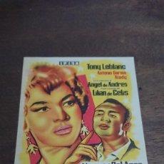 """Cine: """"LAS ESTRELLAS"""" - SIMPLE SIN PUBLICIDAD - BUEN ESTADO. Lote 276914418"""