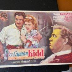 Cine: EL CAPITAN KIDD. Lote 276921123