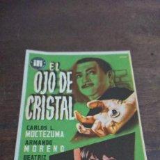 Cine: EL OJO DE CRISTAL - SIMPLE SIN PUBLICIDAD - BUEN ESTADO. Lote 276922213