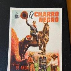 Cine: EL CHARRO NEGRO. Lote 276922553