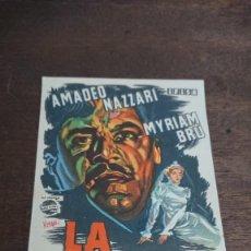 Cine: LA SOSPECHA - SIMPLE SIN PUBLICIDAD - BUEN ESTADO. Lote 276922818
