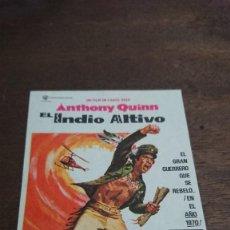 Cine: EL INDIO ALTIVO - SIMPLE SIN PUBLICIDAD - BUEN ESTADO. Lote 276923348