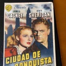 Cine: CIUDAD DE CONQUISTA. Lote 276924243
