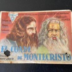 Cine: EL CONDE DE MONTECRISTO. Lote 276924888