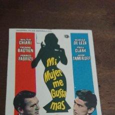 Cine: MI MUJER ME GUSTA MAS - SIMPLE SIN PUBLICIDAD - BUEN ESTADO. Lote 276929623