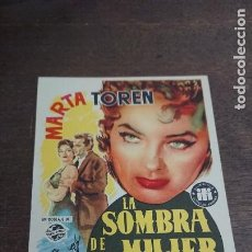Cine: LA SOMBRA DE UNA MUJER - SIMPLE SIN PUBLICIDAD - BUEN ESTADO. Lote 276929863