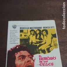 Cine: EL DEMONIO DE LOS CIELOS - SIMPLE SIN PUBLICIDAD - BUEN ESTADO. Lote 276932358