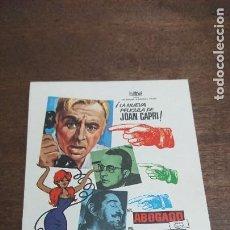Cine: EL ABOGADO EL ALCALDE Y EL NOTARIO - SIMPLE SIN PUBLICIDAD - BUEN ESTADO. Lote 276933463