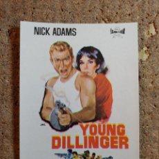 Cine: FOLLETO DE MANO DE LA PELICULA YOUNG DILLINGER. Lote 276997178