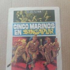 Cine: CINCO MARINOS EN SINGAPUR. Lote 277056423