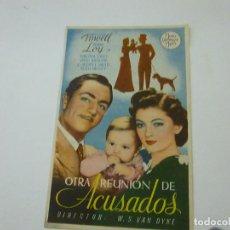 Cine: OTRA REUNION DE ACUSADOS -CON PUBLICIDAD - C 10. Lote 277070308