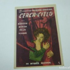 Cine: CERCA DEL CIELO -CON PUBLICIDAD - C 10. Lote 277071618