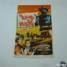 Cine: EL TESORO DE LA MUERTE -SIN PUBLICIDAD - C 10. Lote 277072148