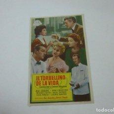 Cine: EL TORBELLINO DE LA VIDA-SIN PUBLICIDAD - C 10. Lote 277072638