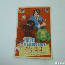 Cine: RETO A LA MUERTE-CON PUBLICIDAD - C 10. Lote 277072838