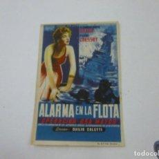 Cine: ALARMA EN LA FLOTA-CON PUBLICIDAD - C 10. Lote 277072993