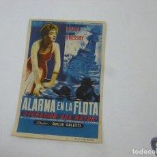 Cine: ALARMA EN LA FLOTA-CON PUBLICIDAD - C 10. Lote 277073013