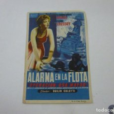 Cine: ALARMA EN LA FLOTA-CON PUBLICIDAD - C 10. Lote 277073043
