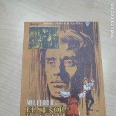 Cine: FOLLETO DE MANO EL SEÑOR DE LA SALLE , MEL FERRER , 1965. Lote 277096498