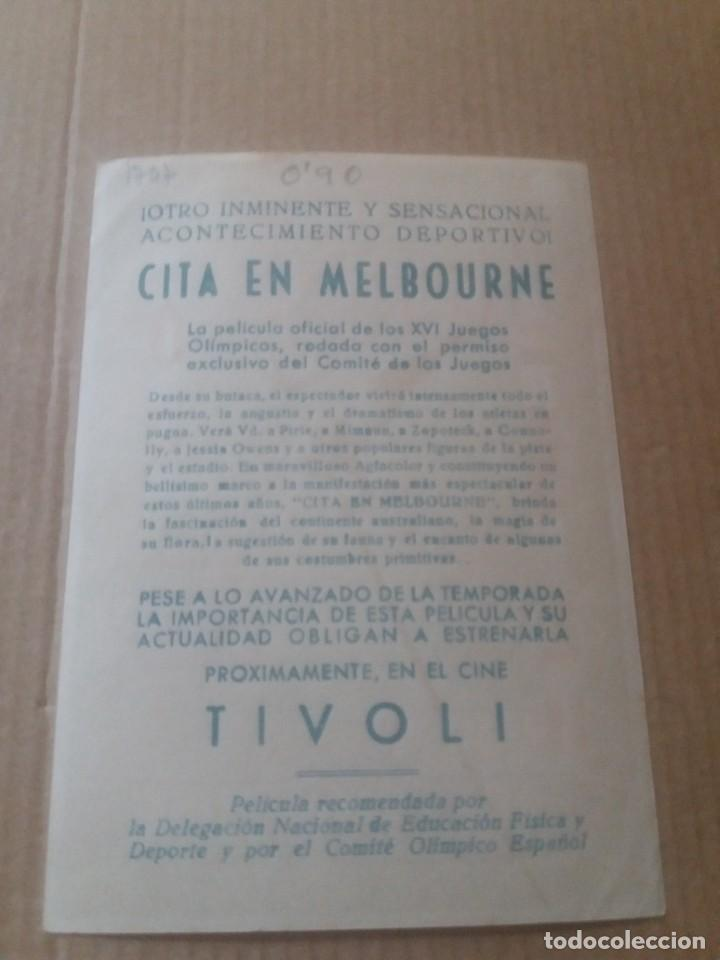 Cine: Cita en Melbourne con Publicidad Cine Tivoli - Foto 2 - 277129498