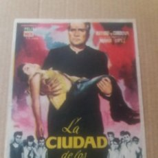 Cine: LA CIUDAD DE LOS NIÑOS. Lote 277133818
