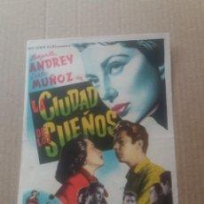 Cine: LA CIUDAD DE LOS SUEÑOS. Lote 277160813
