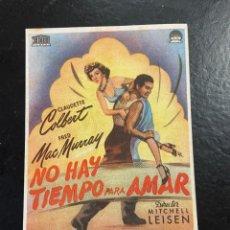 Cine: NO HAY TIEMPO PARA AMAR C/P. Lote 277173828
