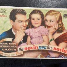 Cine: UN NOVIO PARA TRES NOVIAS C/P. Lote 277174173