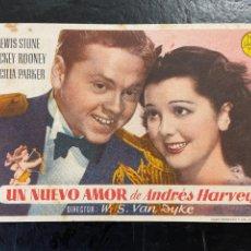 Cine: UN NUEVO AMOR C/P. Lote 277174553