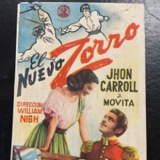 Cine: EL NUEVO ZORRO C/P. Lote 277174633