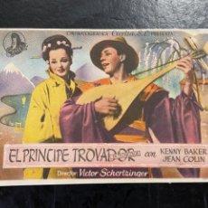 Cine: EL PRINCIPE TROVADOR. Lote 277179563
