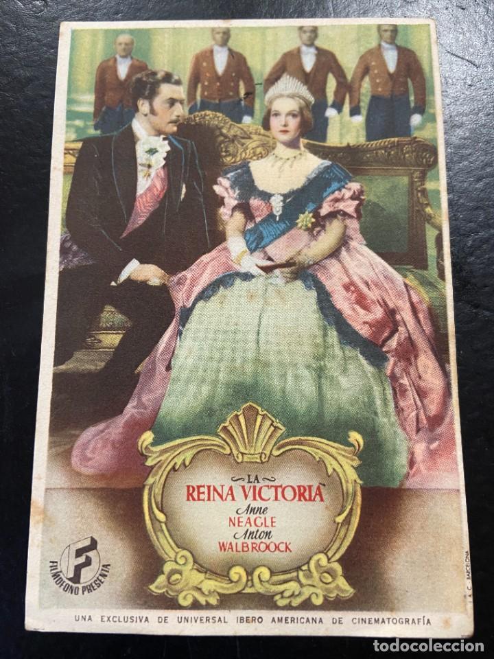 LA REINA VICTORIA C/P (Cine - Folletos de Mano - Aventura)