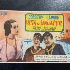 Cine: RUTA DE SINGAPUR C/P. Lote 277186018