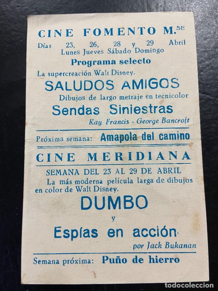 Cine: SALUDOS AMIGOS C/P BUEN ESTADO - Foto 2 - 277186518