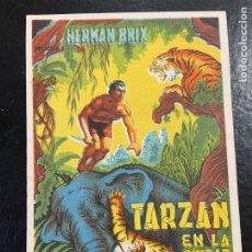 Cine: TARZAN EN LA CIUDAD MUERTA C/P CINE VENUS MUY BUEN ESTADO. Lote 277190323