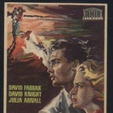 Cine: P-9579- SECUESTRADO EN LONDRES (LOST) (CINE RIACHO - ORIHUELA) DAVID FARRAR - DAVID KNIGHT. Lote 277280118